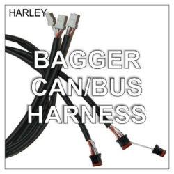2014-Up Bagger Plug-n-Play Extended Switch Harnesses
