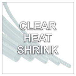 Rolls of Clear Heat Shrink Tubing