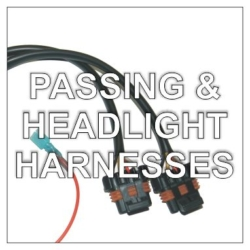 Headlight & Passing Lamp Adapter Harnesses