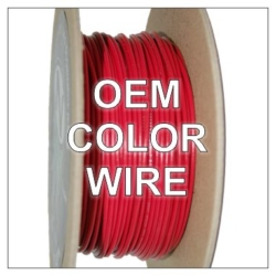 100 ft Rolls of OEM Color Wire