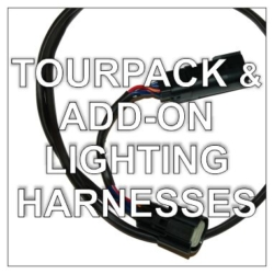 Tour Pack Harnesses & Add-On Lighting Pigtails