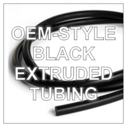 Black Extruded Tubing
