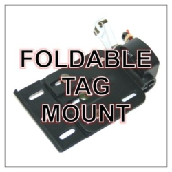 Side Mount Foldable Tag Mount