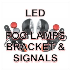 LED Passing Lamps, Brackets & Turn Signal Kits