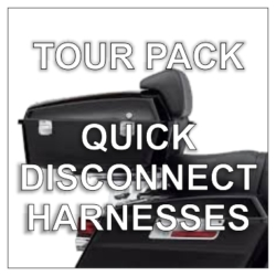 Tour Pack Quick Disconnect Harnesses