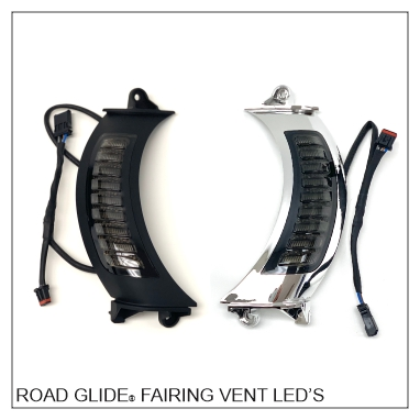 Road Glide® Fairing Vent Run & Turn Signal Switchbacks