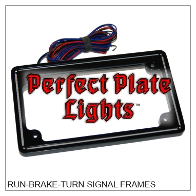 LED Illuminated License Plate Frames