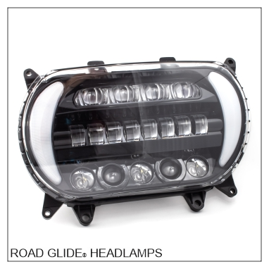 Road Glide® LED Headlights