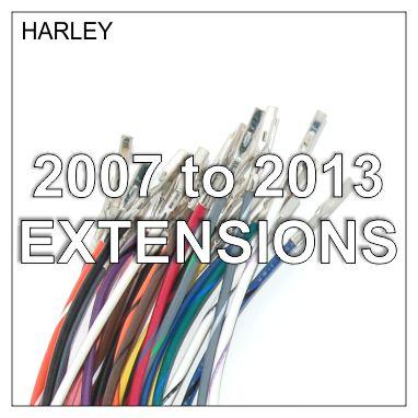 Handlebar Extension Kits 2007 to 2010 FXST, 2011 Dyna, 2013 XL & Dresser
