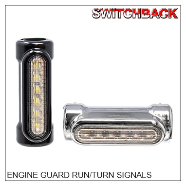 Engine Guard Run/Turn Signal Switchbacks