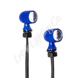 Blue 45 caliber mini LEDs