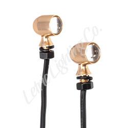 Gold 45 caliber mini LEDs